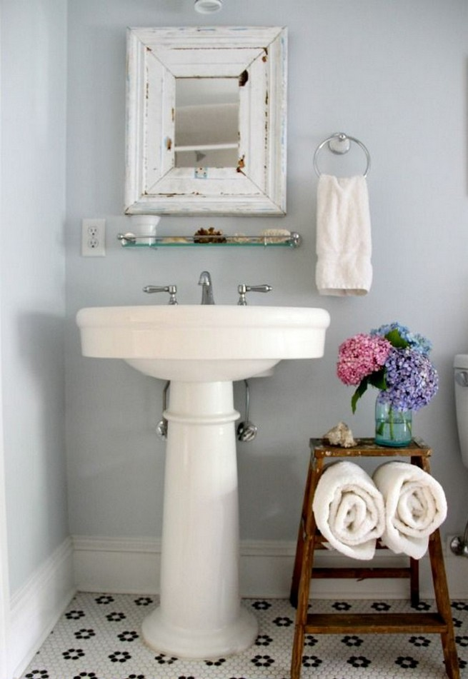 Latest design news vintage bathroom design ideas news - Decoracion de banos pequenos fotos ...