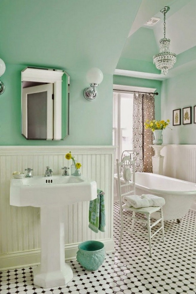 Latest design news vintage bathroom design ideas news for Classic small bathroom ideas