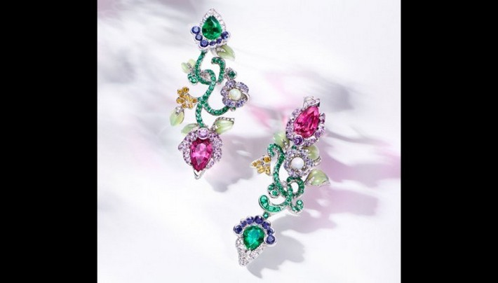 THE BEST JEWELRY BRANDS AT BASELWORLD  THE BEST JEWELRY BRANDS AT BASELWORLD 6 faberge secret garden earrings