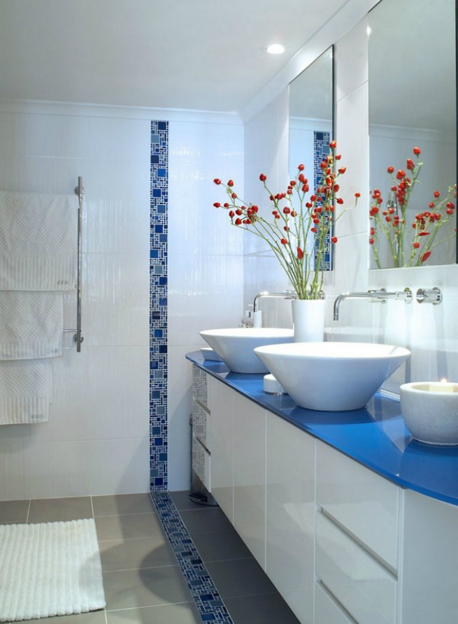 Top spring bathroom trends 2015 news and events by for Spring bathroom decor