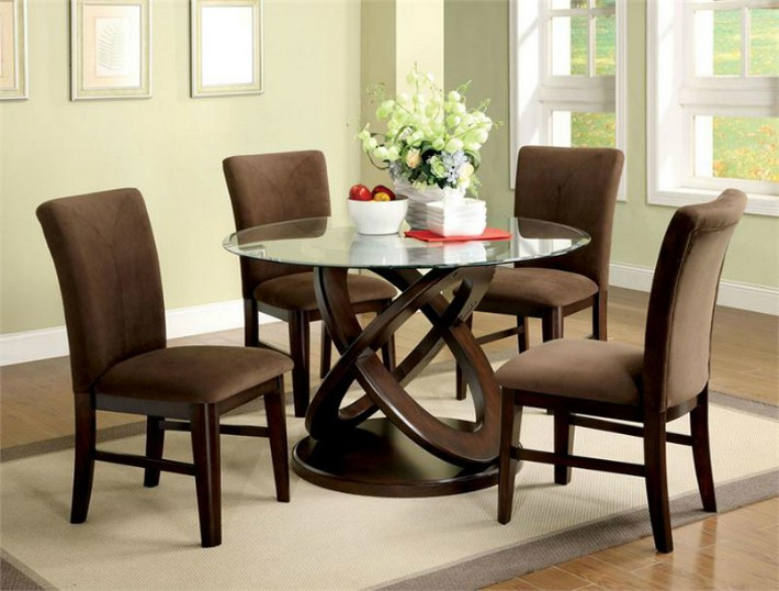 Design trends dining tables for contemporary dining rooms for Contemporary round dining table