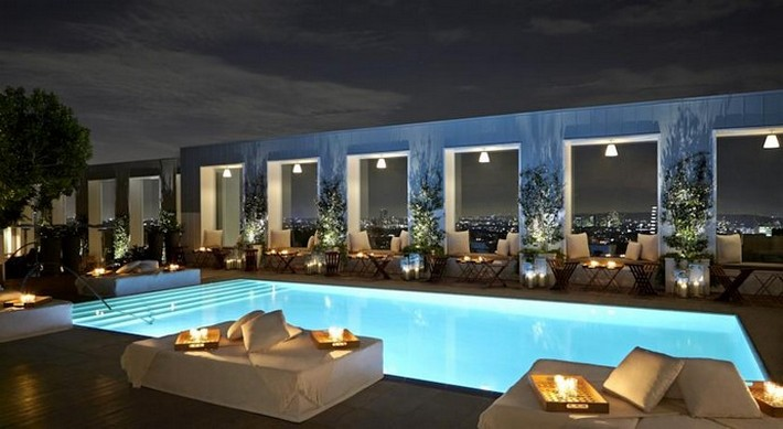 Best of modern luxury with mondrian la hotel news and for Sky design hotel