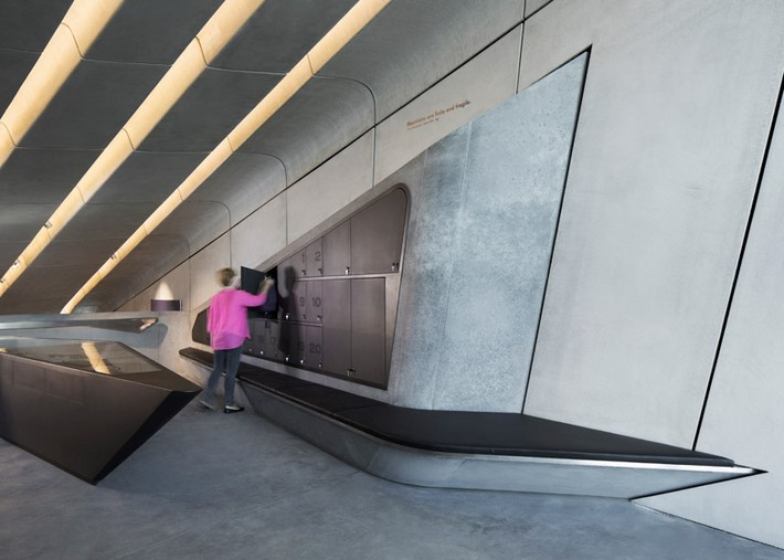 Art Projects: Zaha Hadid's Alpine Mountain Museum  Art Projects: Zaha Hadid's Alpine Mountain Museum Messner Mountain Museum Zaha Hadid Architects Corones dezeen 784 1