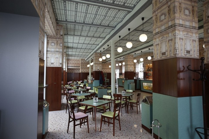 Wes anderson designed a milan coffee shop news and for Best coffee in milan