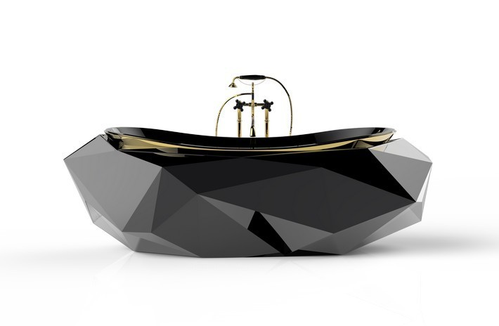 Hot Contemporary Bathroom Ideas  Hot Contemporary Bathroom Ideas diamond bathtub 1 HR