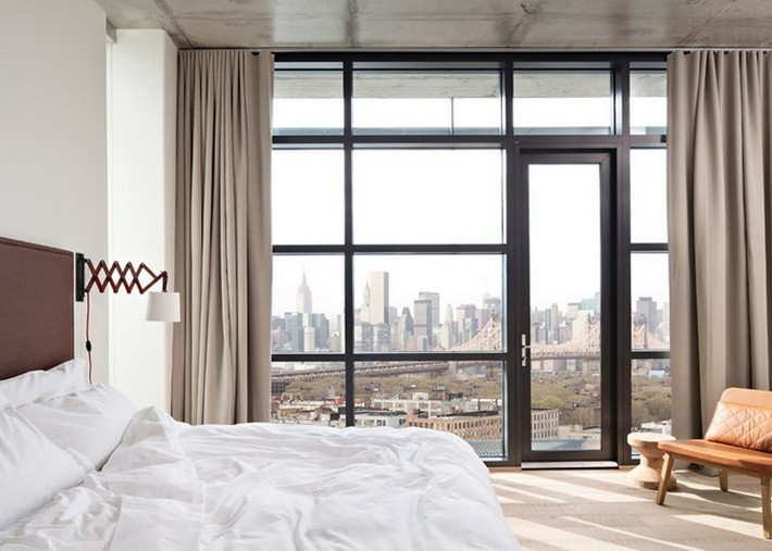 A MASH UP OF COPENHAGEN SEVILLE AND NEW YORK CITY IN BOROS HOTEL INTERIOR