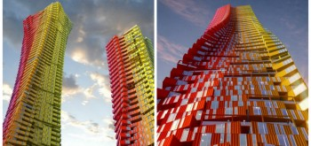 SHIPPING CONTAINER SKYSCRAPER UNVEILED BY CRG ARCHITECTS