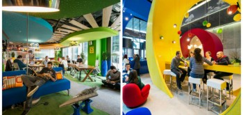 INTERVIEW WITH THE STUDIO RESPONSIBLE FOR GOOGLE'S OFFICES DESIGN
