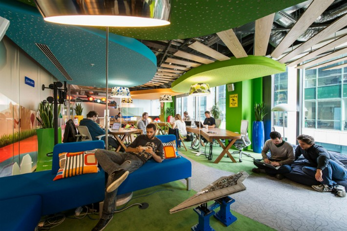 The Google Office With Interview With The Studio Responsible For Googleu0027s Offices Design