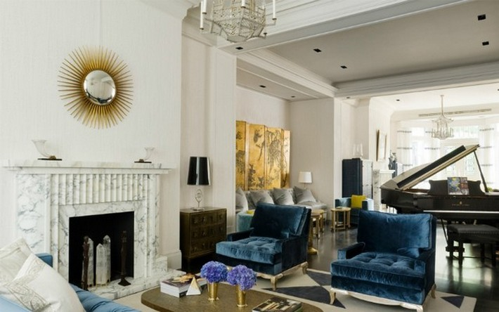 TOP LONDON INTERIOR DESIGNER: DAVID COLLINS TOP LONDON INTERIOR DESIGNER:  DAVID COLLINS Meet Top