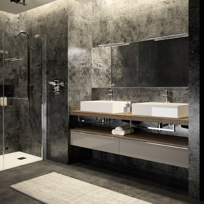 Top bathroom furniture brands at id o bain 2015 for Cedam salle de bain