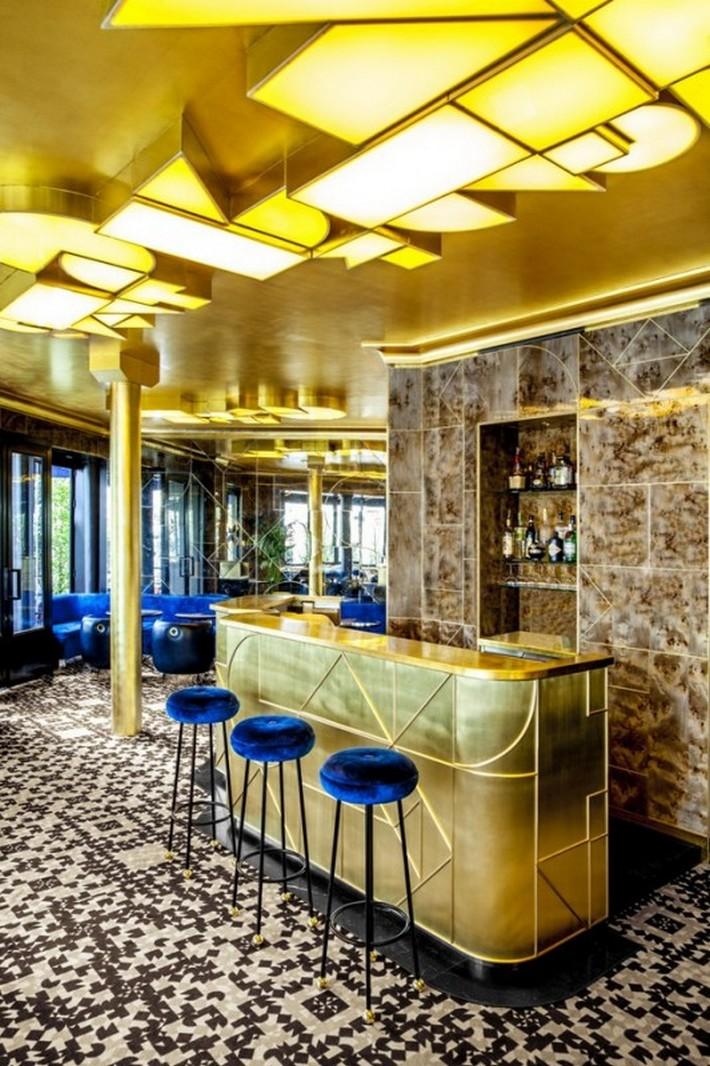 Café Français - Exclusive Design by India Mahdavi | News ...