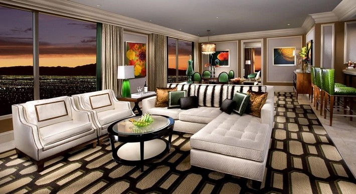Luxury Hotel Suites luxury hotel: bellagio penthouse suite , las vegas – news and