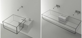 Architect Victor Vasilev Creates Invisible Bathroom Sink