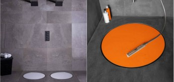 Creative Dot Offers A Barrier-Free in Linear Shower Drain Silver dot