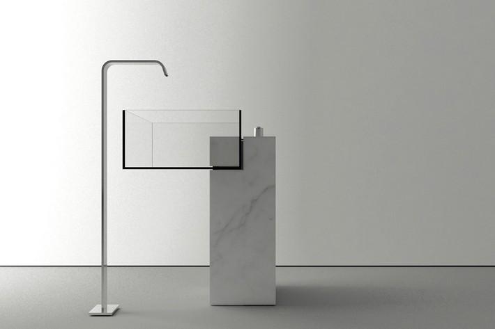 Architect Victor Vasilev Creates Invisible Bathroom Sink