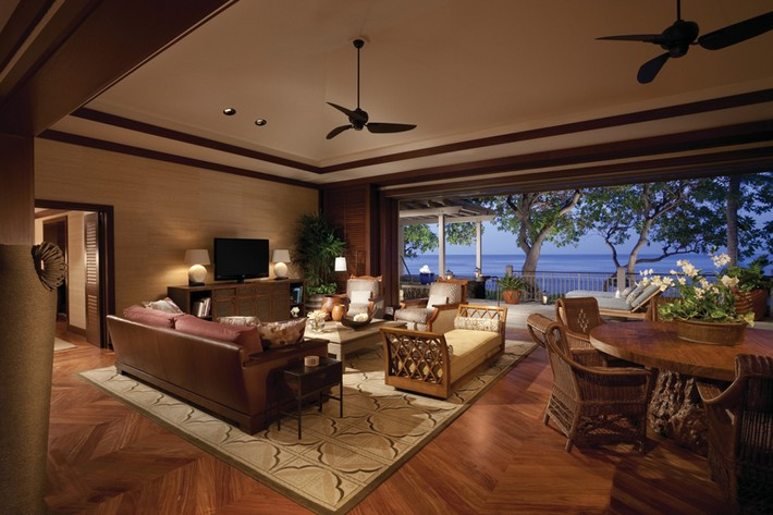 Exclusive luxurious suites at four seasons resort hawaii for Exclusive luxury hotels