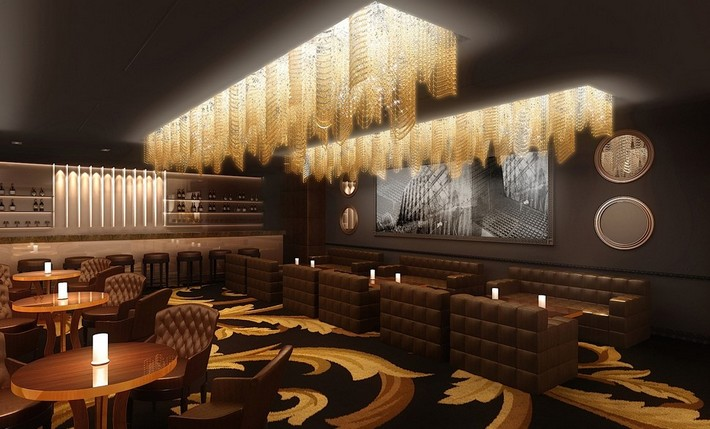 Grand opening of the luxury hotel palazzo versace in dubai for Design luxushotel dubai