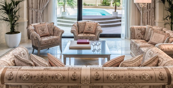 Versace Living Room Furniture