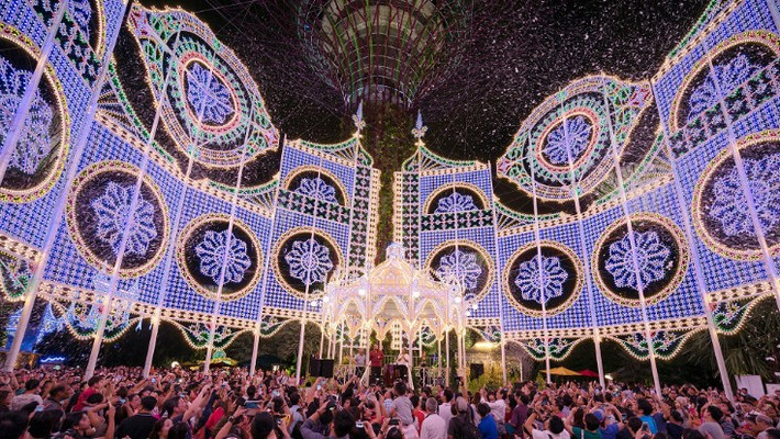 Garden By The Bay Event singapore's christmas wonderland at gardensthe bay – news and