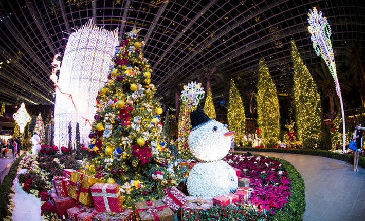 Singapore S Christmas Wonderland At Gardens By The Bay