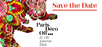 PARIS DECO OFF 2016 - THE COUNTDOWN HAS BEGUN
