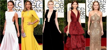 Best Dresses at the Red Carpet of the 2016 Golden Globes