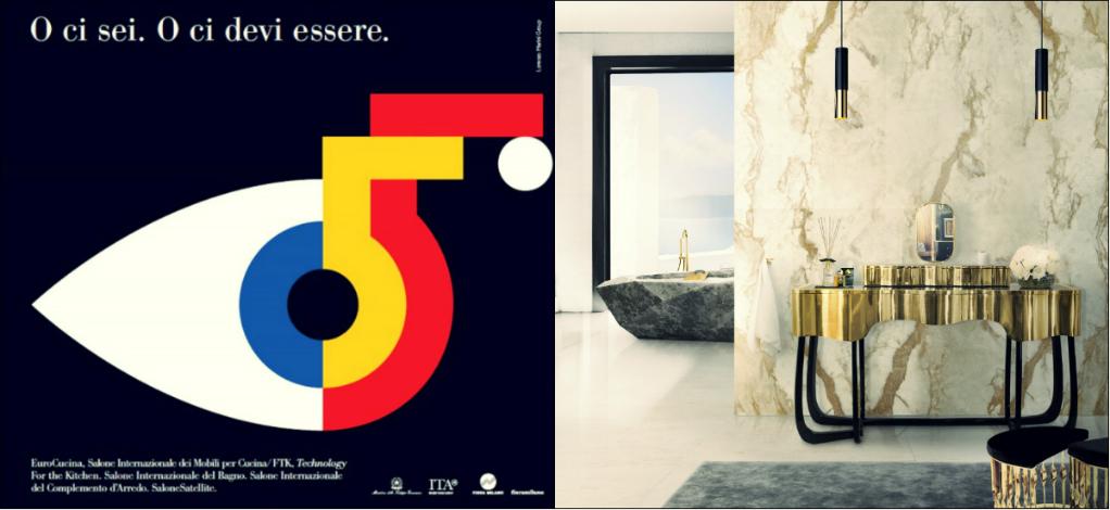 first class bathroom design at salone internazionale del bagno