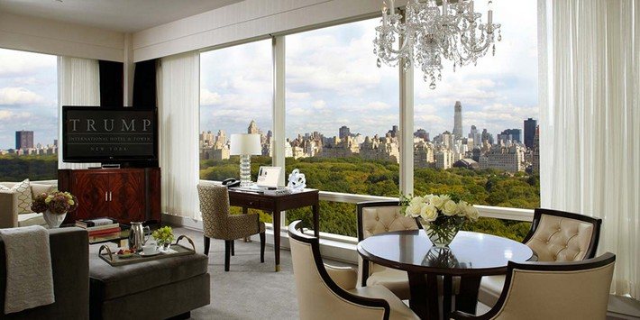 Top Luxury Hotels In Central Park Nyc Trump International New York