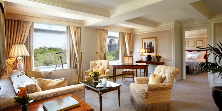 Top Luxury Hotels In Central Park Nyc Ritz Carlton
