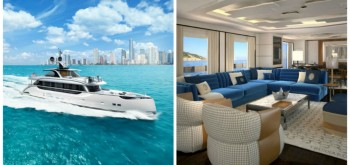 TRUSSARDI FOR DYNAMIQ CONTEMPORARY INTERIORS FOR CUTTING-EDGE YACHTS