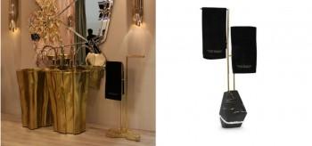 Maison Valentina's Inspiring Towel Racks for Luxury Bathrooms