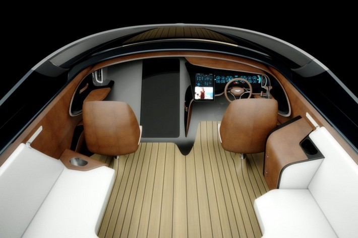 Aston Martin Unveils the Creative AM37 Power Boat 1 aston martin Aston Martin Unveils the Creative AM37 Power Boat Aston Martin Unveils the Creative AM37 Power Boat 1