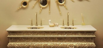 crochet washbasin