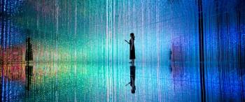 Immersive Digital Art Exhibition in Tokyo by Teamlab