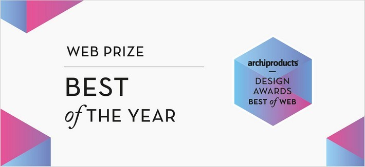 Archiproducts Design Awards 2016 Archiproducts Design Awards Archiproducts Design Awards 2016 Web prize