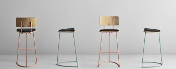 Boomerang Bar Stool completes the Missana's Collection by Cardeoli