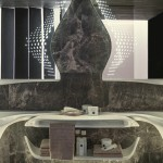 Vitae Bathroom Suite by Zaha Hadid Design for Porcelanosa