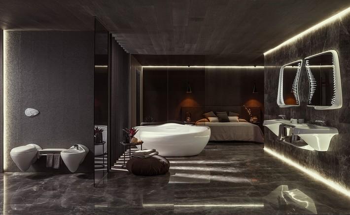 "Vitae Bathroom Suite by Zaha Hadid Design for Porcelanosa zaha hadid design ""Vitae"" Bathroom Suite by Zaha Hadid Design for Porcelanosa Vitae Bathroom Suite by Zaha Hadid Design for Porcelanosa 3"