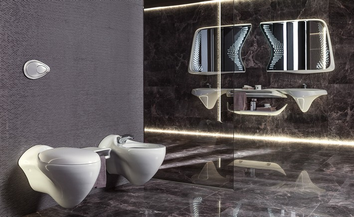 "Vitae Bathroom Suite by Zaha Hadid Design for Porcelanosa zaha hadid design ""Vitae"" Bathroom Suite by Zaha Hadid Design for Porcelanosa Vitae Bathroom Suite by Zaha Hadid Design for Porcelanosa 5"