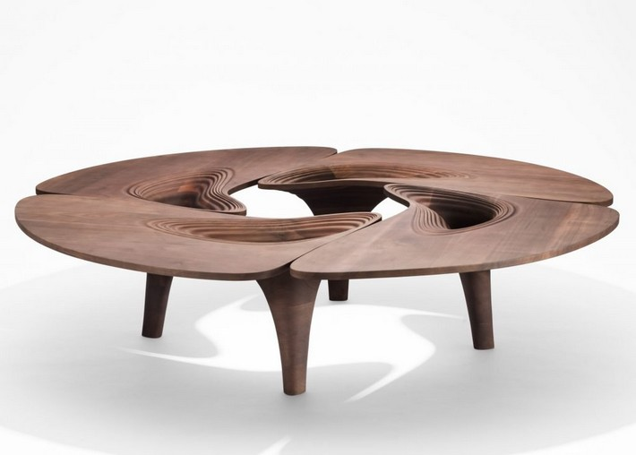 Zaha Hadid S Furniture Collection Inspired On Mid Century