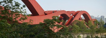 Entwined Chinese Bridge Designed by NEXT Architects