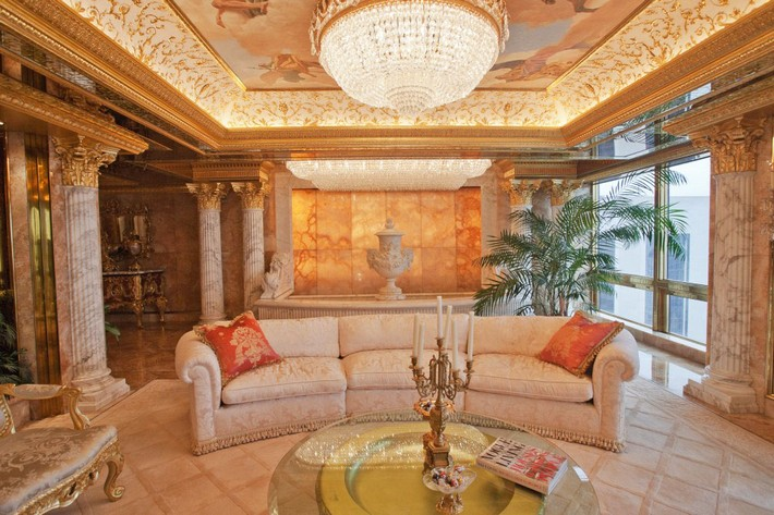 Donald Trump's Manhattan Luxury Apartment Mansion Donald Trump Donald Trump's Manhattan Luxury Apartment Mansion Donald Trumps Manhattan Luxury Apartment Mansion 2