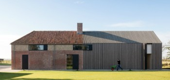 Belgian Fort transformed in Home by Govaert & Vanhoutte Architects