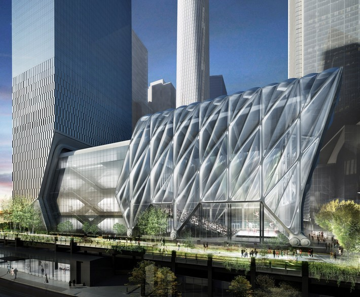 The Shed: An Expandable Cultural Venue in New York  the shed The Shed: An Expandable Cultural Venue in New York the shed diller scofidio and renfro architecture news new york usa dezeen 2364 col 3