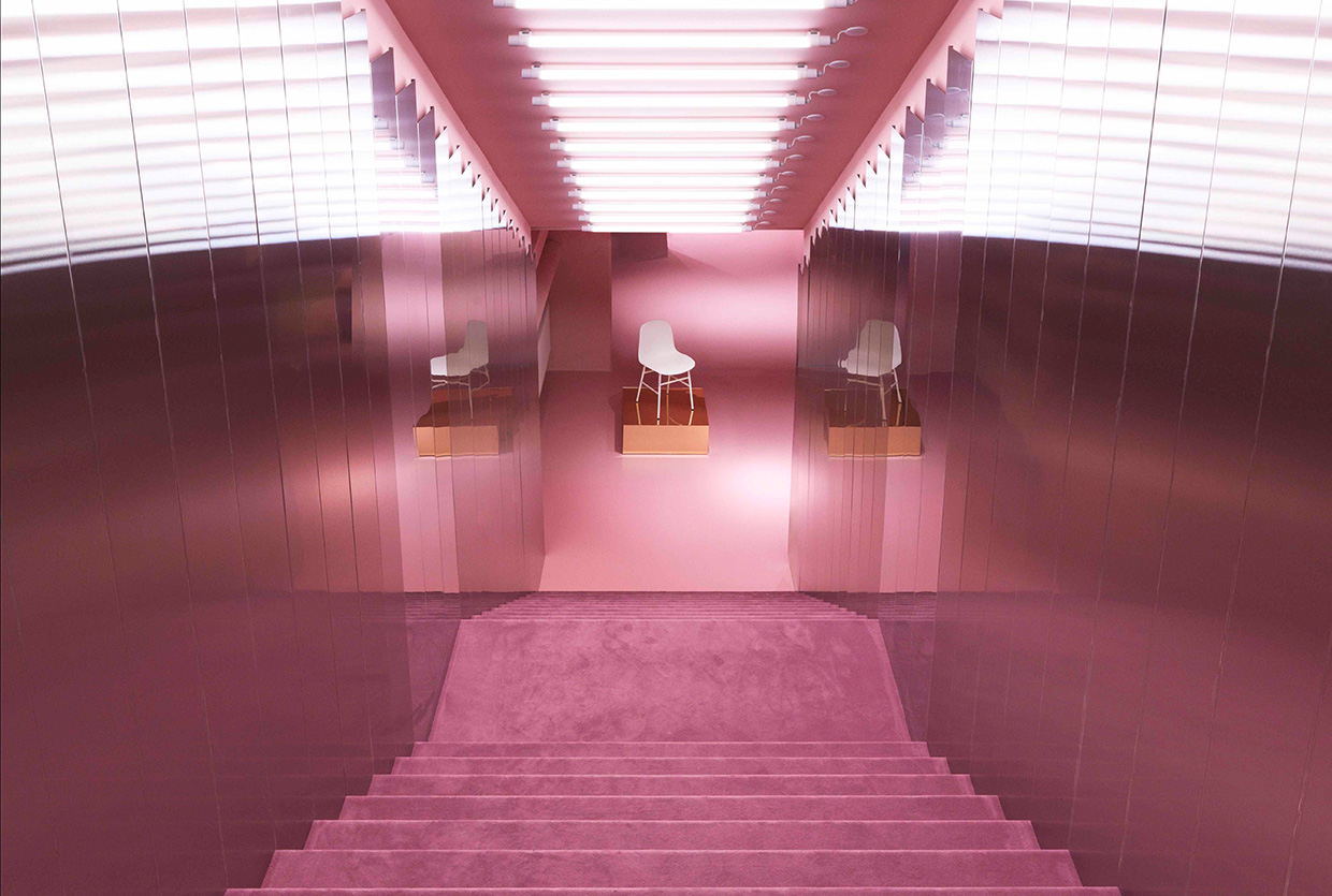 normann copenhagen store remodelled into a glamorous pink ballroom 5 Normann Copenhagen Normann Copenhagen Store Remodelled into a Glamorous Pink Ballroom normann copenhagen store remodelled into a glamorous pink ballroom 5