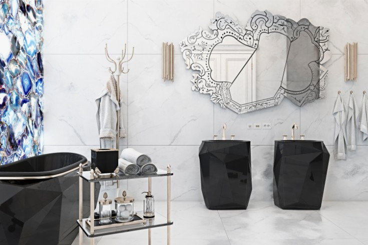 The perfect combination luxury bathroom The perfect combination for a luxury bathroom project maison valentina 3 thumbnail lixury Bathroom