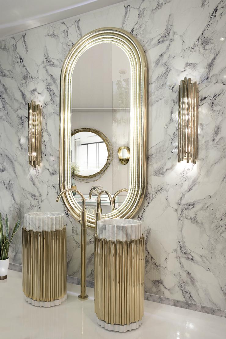ONTEMPORARY BATHROOM contemporary bathrooms CONTEMPORARY BATHROOMS FOR YOUR LIFESTYLE 23 colosseum mirror symphony freestand maison valentina HR 4