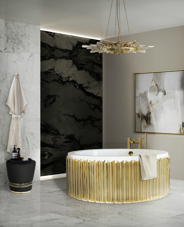 Perfect Wall Covering Perfect Wall Covering Discover the Perfect Wall Covering For Your Bathroom 27 symphony bathtub black paramount surface HR 3