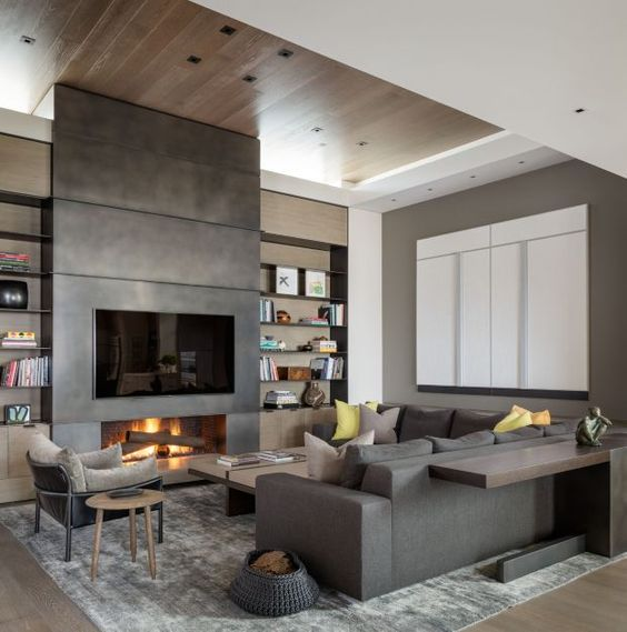 5 Modern Fireplaces 5 Modern Fireplaces 5 Modern Fireplaces that Will Elevate Your House f1e932aff20e3e2fcc61bcf38eac0b44